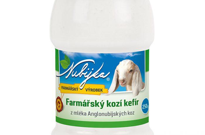 Farmářský kefír z kozího mléka – bílý 250g