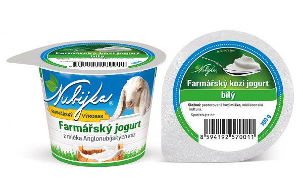 Farmářský kozí Jogurt – bílý