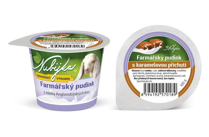 Farmářský pudink s karamelovou příchutí